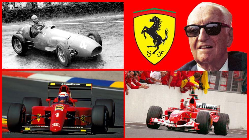 Los éxitos deportivos de Ferrari en sus 70 años de historia