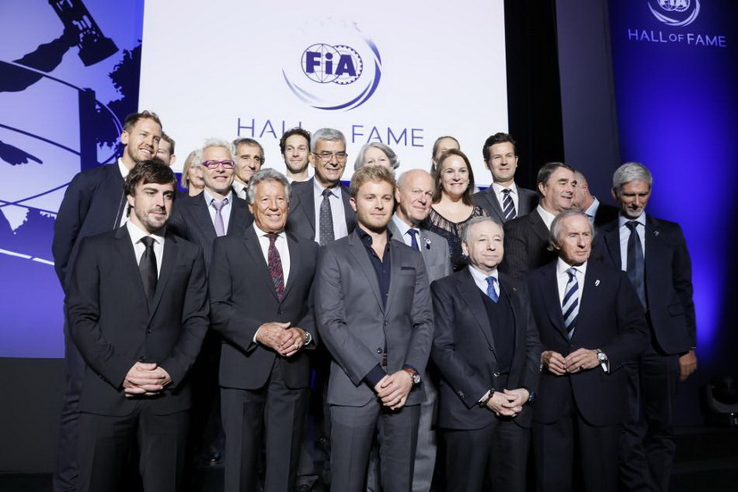 """Fernando Alonso en el """"Salón de la Fama"""" de la Fórmula 1"""