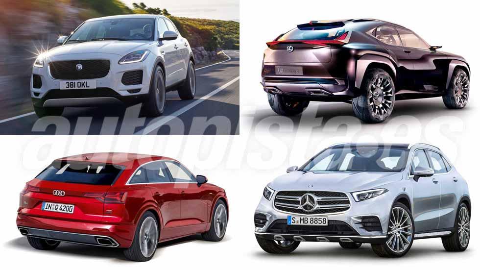 Los nuevos SUV que desearás conducir: Audi Q4, Mercedes GLA, Lexus UX…