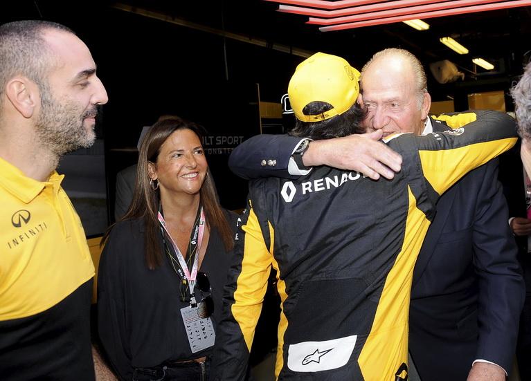 Cyril Abiteboul, satisfecho con Carlos Sainz