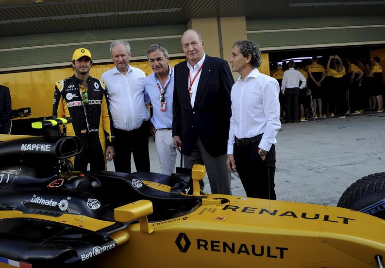 """Sainz, excelente"", según Alain Prost"
