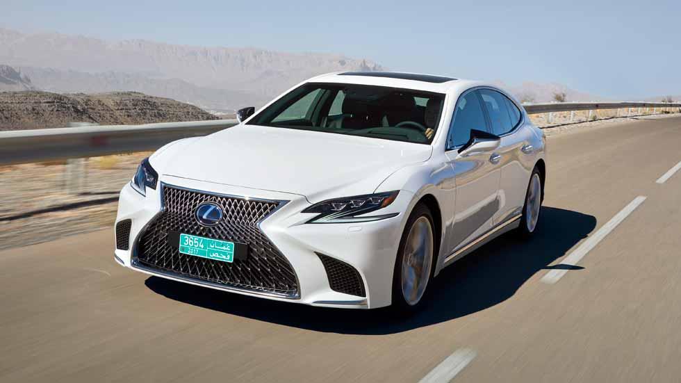 Lexus LS 500h 2018: a prueba la nueva superberlina híbrida
