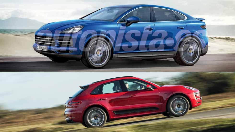 Porsche Cayenne Coupé y Macan Coupé: los próximos SUV deportivos