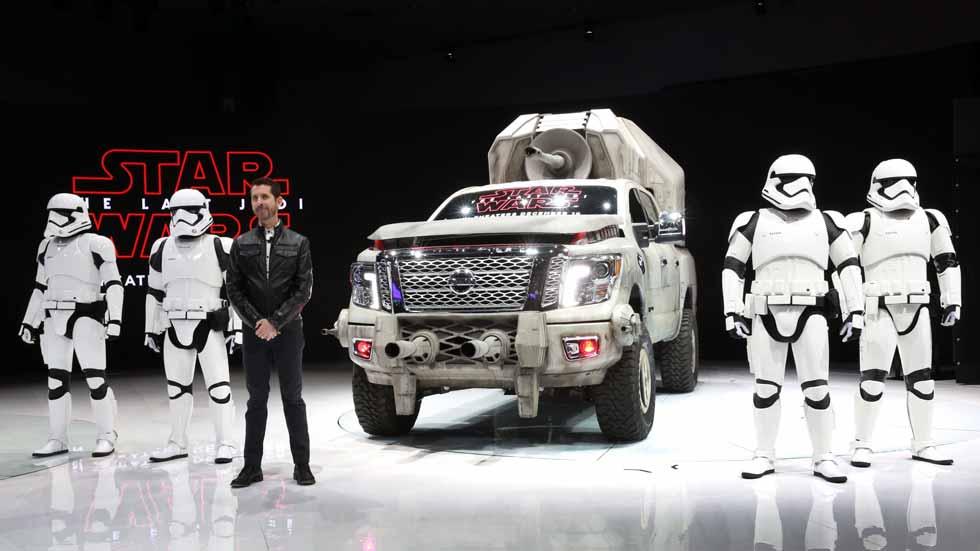 """Nissan presenta seis coches inspirados en """"Star Wars: El Último Jedi"""""""