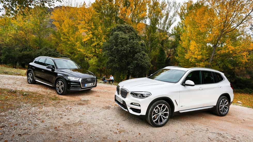 Audi Q5 vs BMW X3: a prueba dos de los SUV más deseados. ¿Cuál es mejor?
