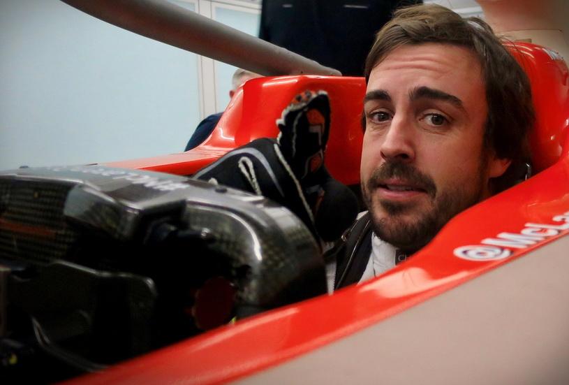Alonso estuvo hoy en McLaren