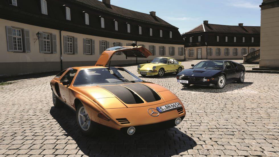 Coches para el recuerdo: BMW M1, Mercedes C111 y Porsche 911 Carrera RS