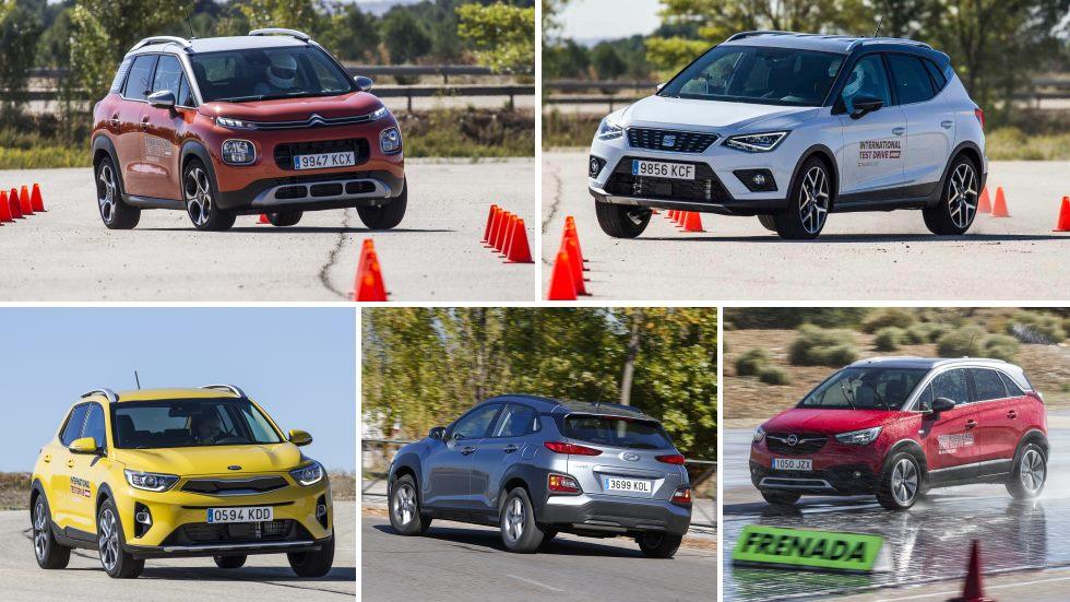 ¿El mejor nuevo SUV urbano? Todos contra todos: Arona, Stonic, Kona, Crossland X…