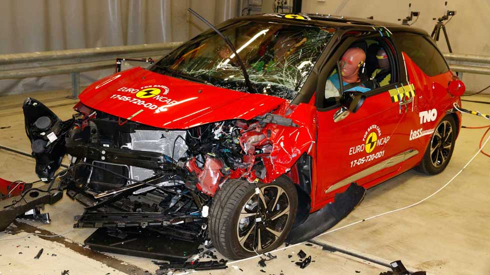 Los coches y SUV más y menos seguros en los últimos test EuroNCAP