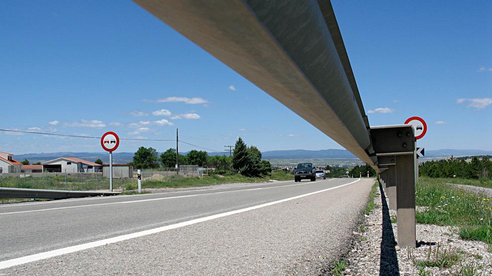 Las carreteras españolas, con más riesgo de accidentalidad que hace un año