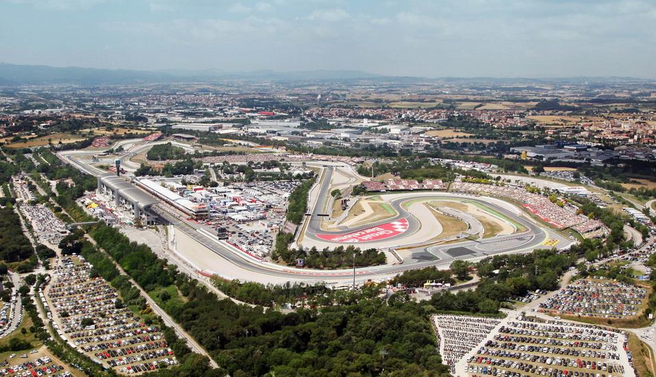 Plena actividad de F1 en el Circuit en 2018