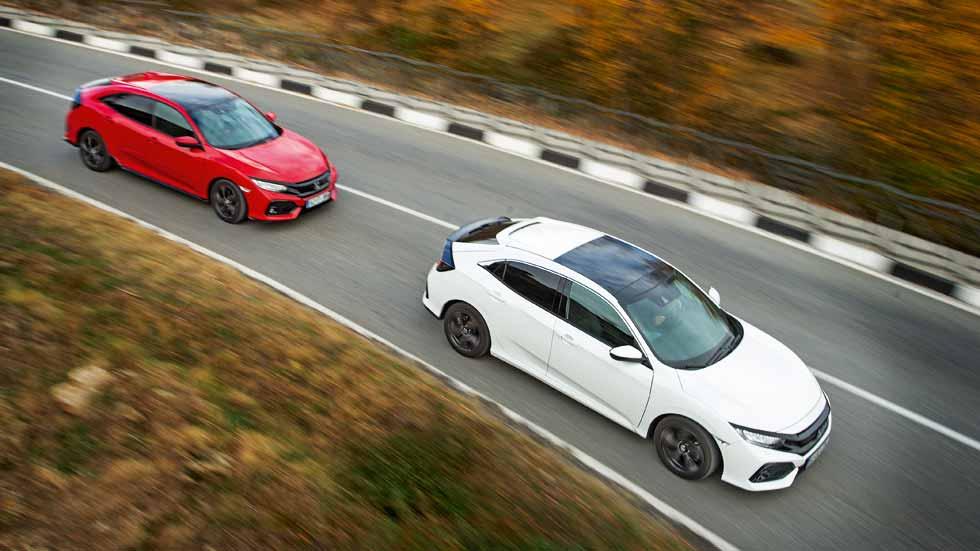 ¿Qué Honda Civic de gasolina elegir, el 1.0 de 129 CV o el 1.5 de 182 CV?