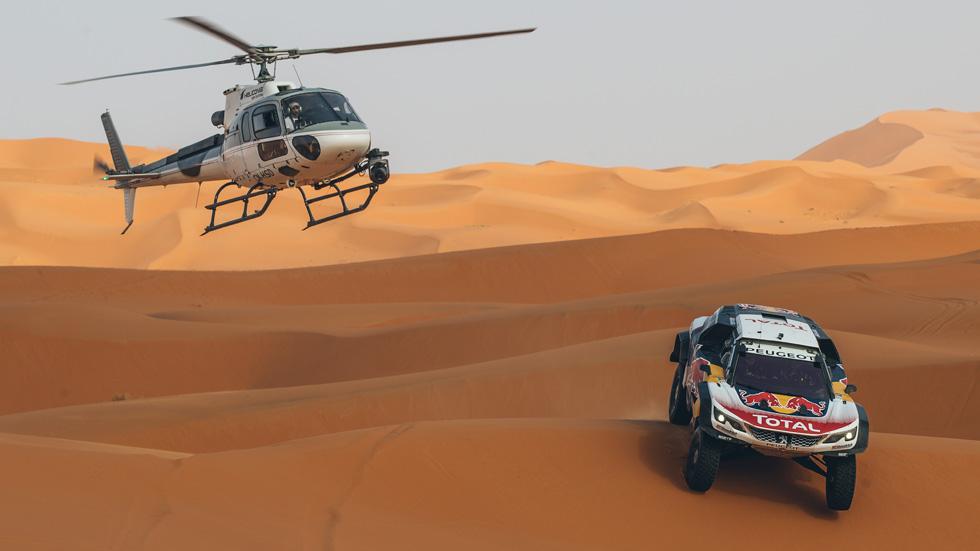 Previo Dakar 2018: todos contra Peterhansel