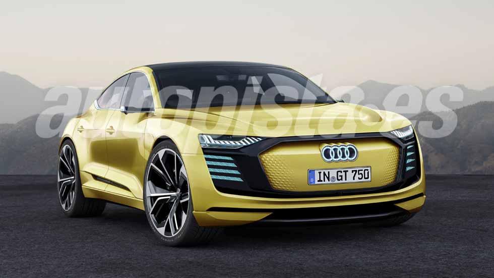 Audi E-Tron GT: todos los datos y fotos del futuro deportivo eléctrico