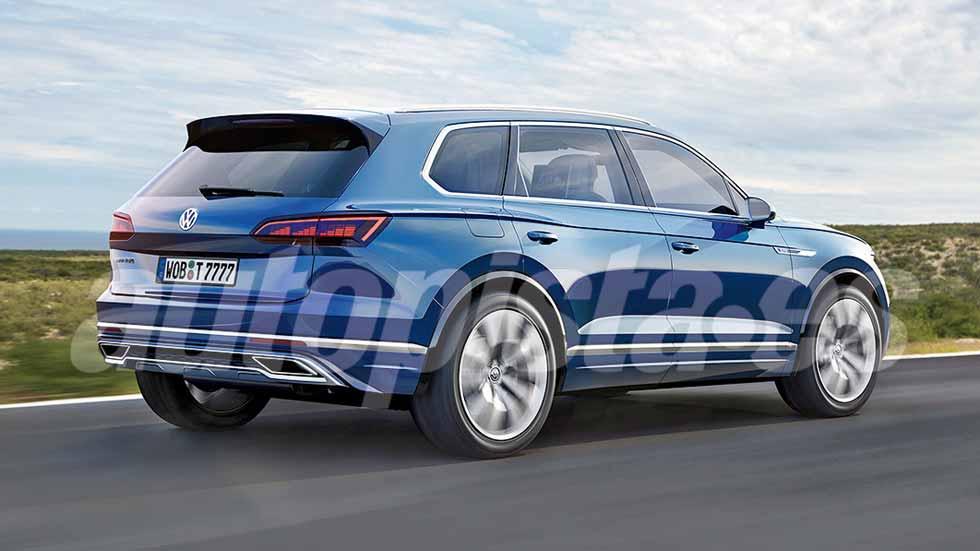 Volkswagen Touareg 2018: primeros datos y fotos del nuevo SUV