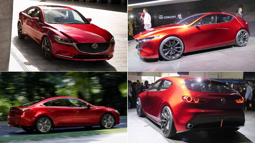 Los nuevos coches y SUV de Mazda en 2018: Mazda6, CX-5, Mazda3…
