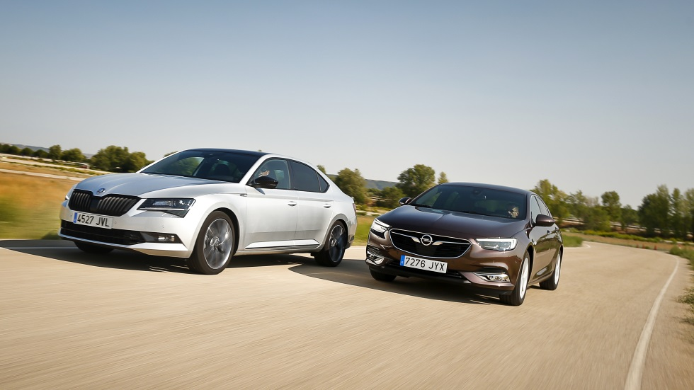 Opel Insignia 1.5 Turbo vs Skoda Superb 1.4 TSI: ¿cuál es mejor berlina?