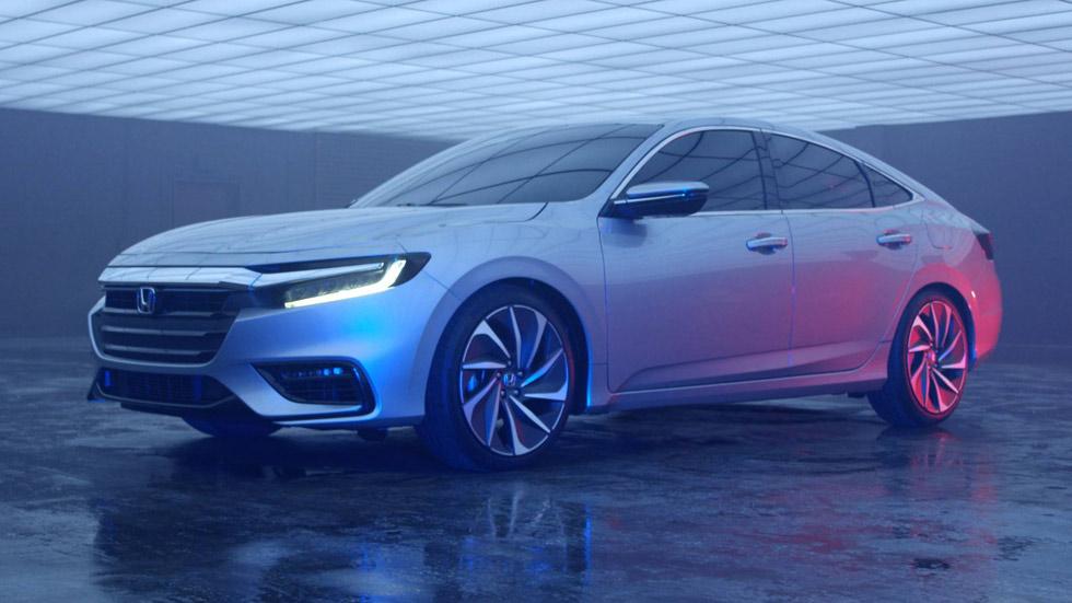 Honda Insight Concept, el nuevo rival del Toyota Prius para 2018
