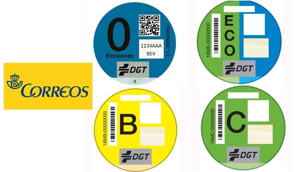 Cómo comprar las etiquetas de la DGT que exigirán las nuevas restricciones