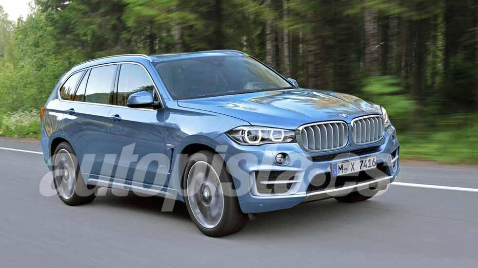 BMW X7 2018: cuenta atrás para la llegada del nuevo gran SUV