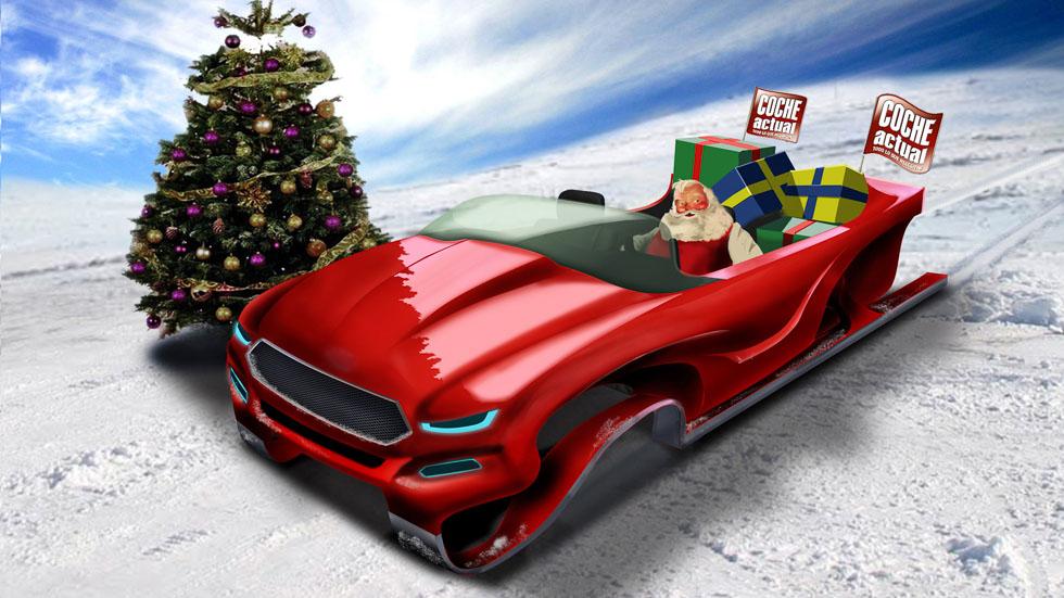 ¿Cuánto tiempo tardaría Papa Noel si tuviera que repartir los regalos en coche?