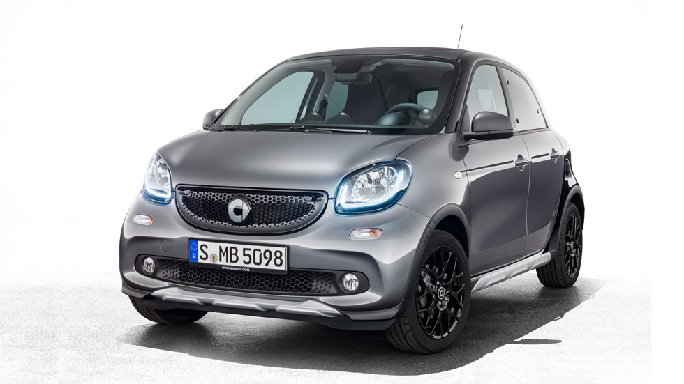 Smart ForFour Crosstown Edition: aire SUV y deportivo