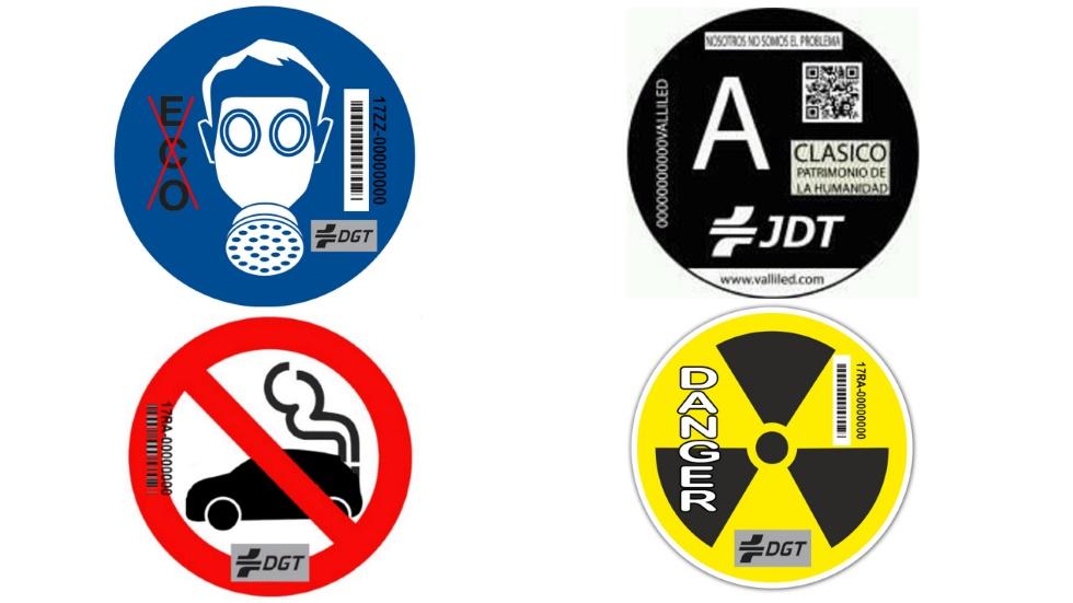 Las etiquetas para coches contaminantes que la DGT no se atreverá a sacar