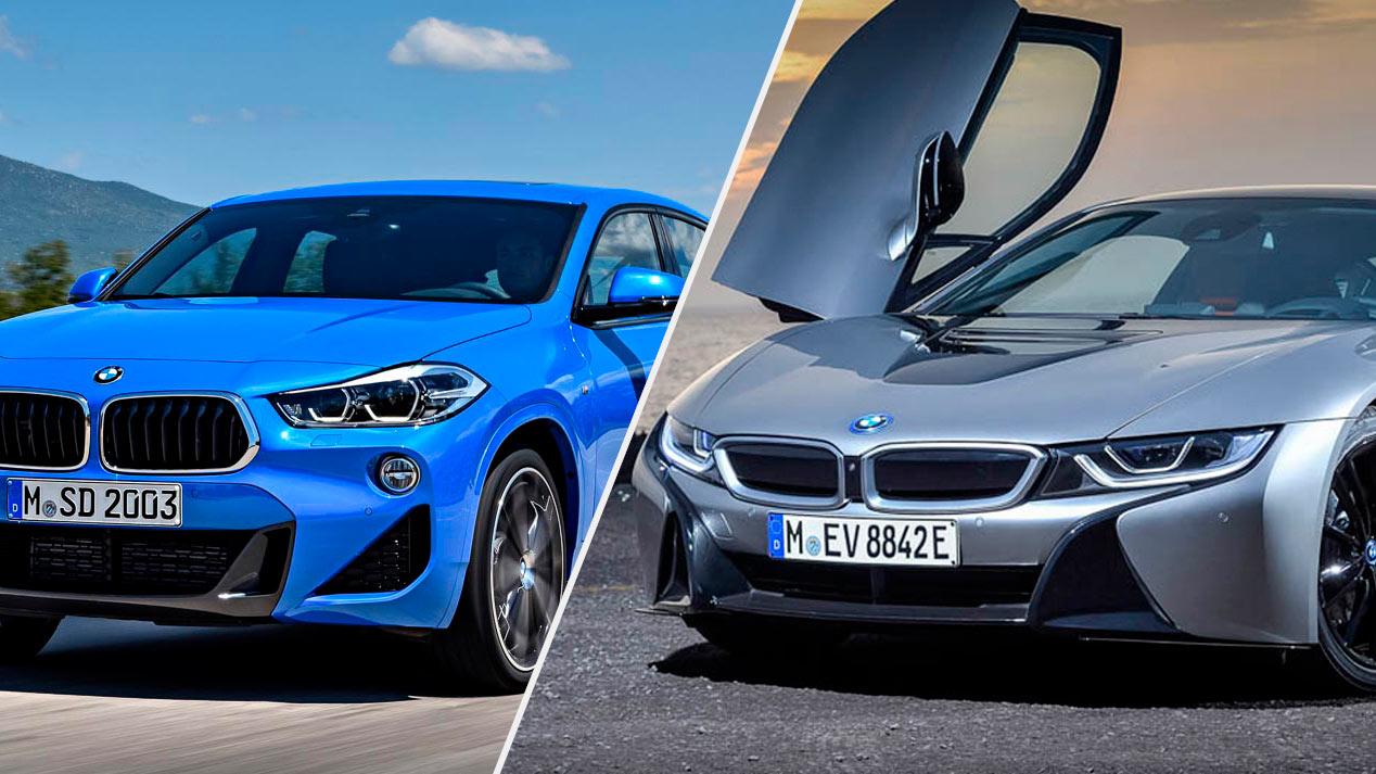 BMW i8 y X2: el deportivo y el SUV se estrenan en el Salón de Detroit 2018