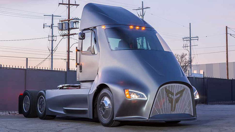 Thor Trucks ET-One, el súper camión eléctrico anti Tesla Semi
