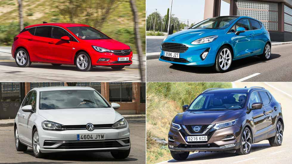Los 10 coches más vendidos en Europa en lo que va de año