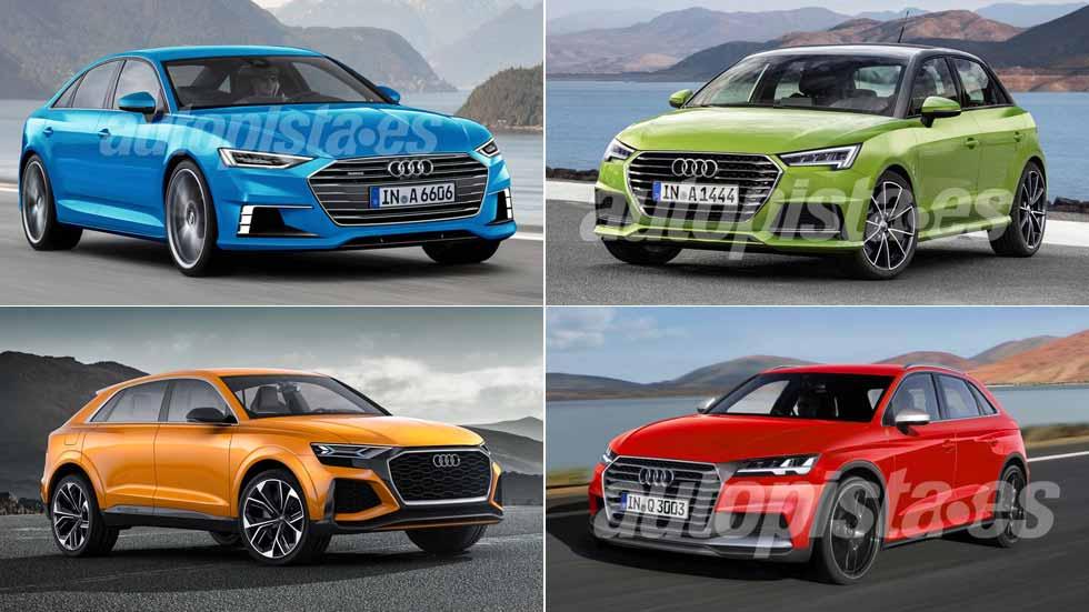 Todos los nuevos coches y SUV de Audi en 2018: A1, A6, Q3, Q8…