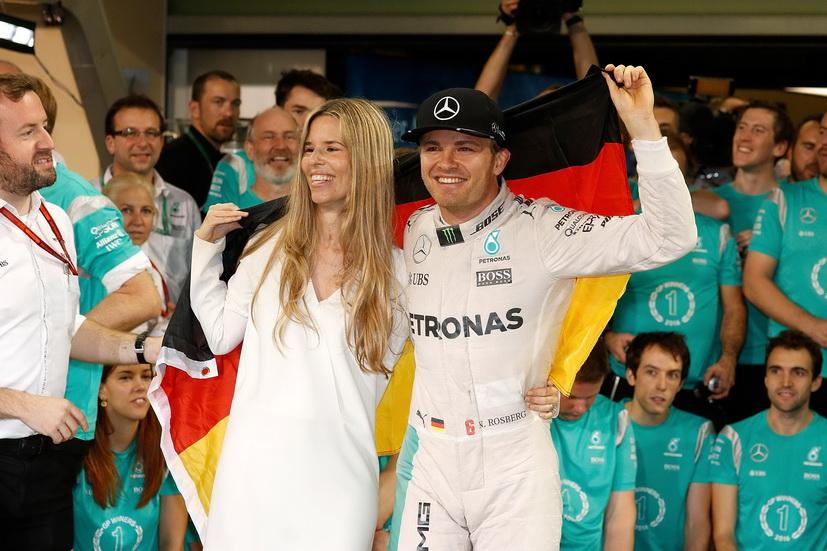 Nico Rosberg pasa la Navidad en Ibiza