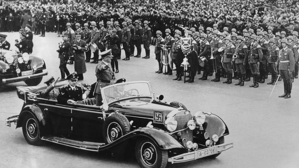 El Mercedes-Benz Grosser del dictador Adolf Hitler, a subasta