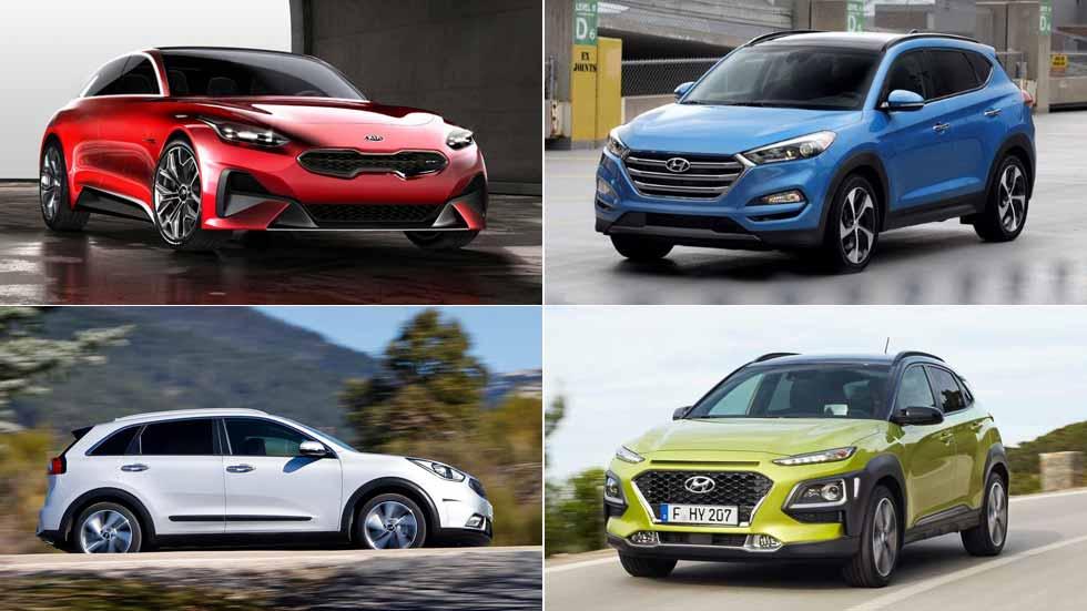 Los coches nuevos y SUV de Hyundai y Kia en 2018: Tucson, i20, Cee'd…