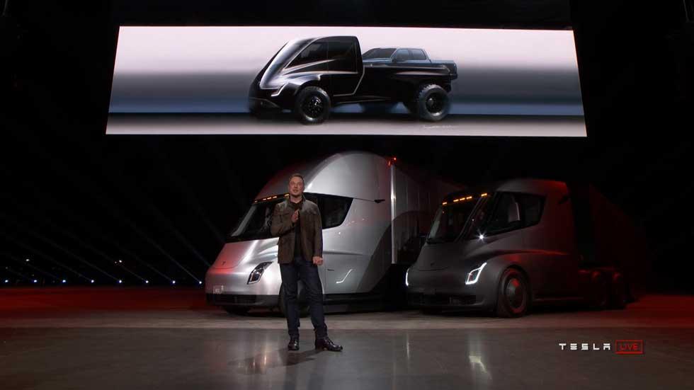 """Elon Musk, el dueño de Tesla, se """"muere de las ganas de fabricar un pick-up"""""""
