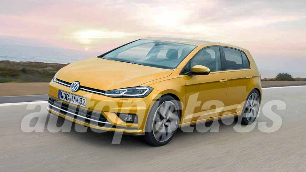 volkswagen golf 2019 cambios revolucionarios para la octava generaci n novedades. Black Bedroom Furniture Sets. Home Design Ideas