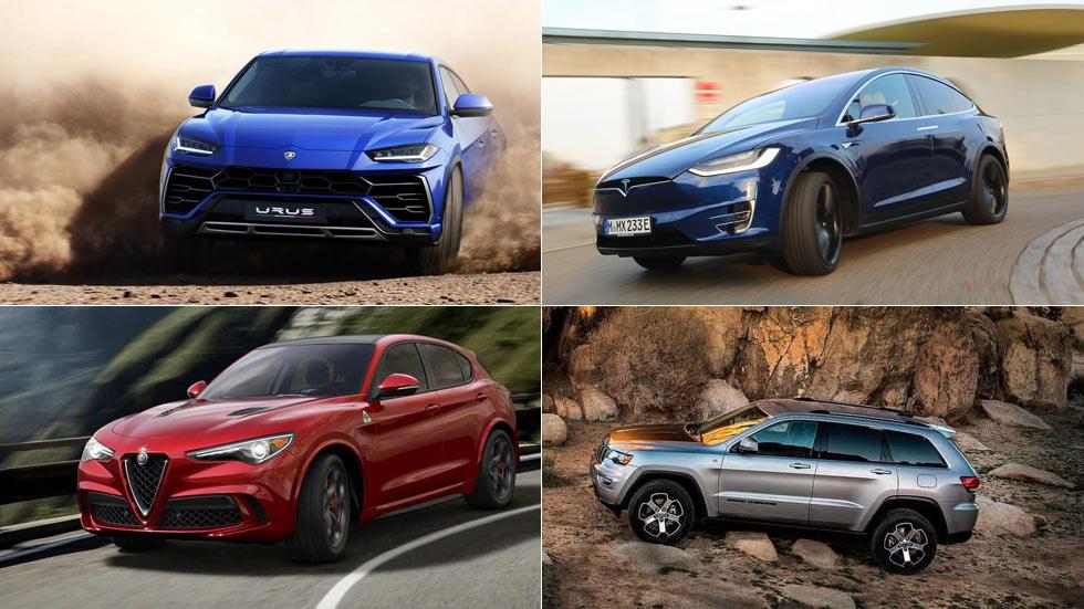 Los 10 SUV más bestiales y rápidos del mundo