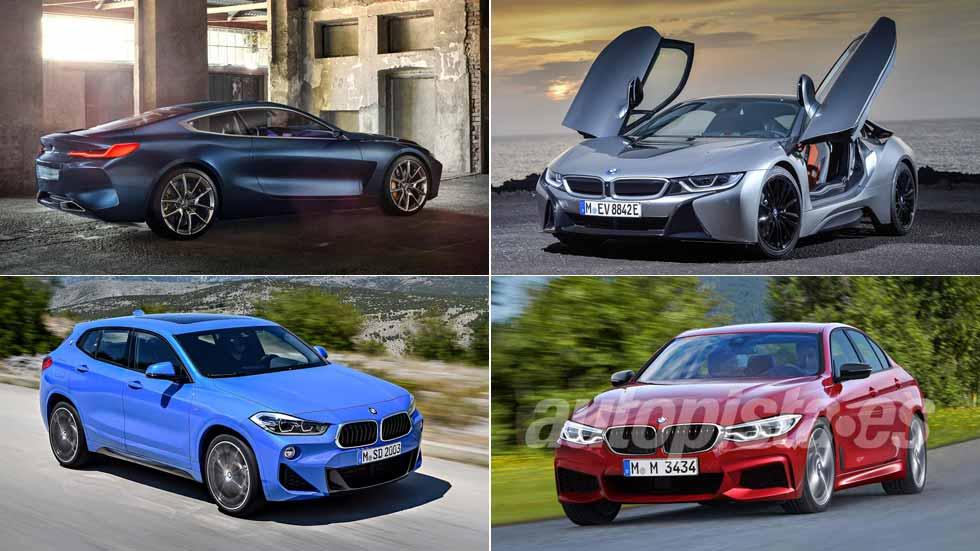 Los nuevos coches y SUV de BMW en 2018: X2, X4, Serie 3, Serie 8…