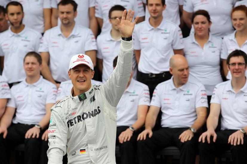 El estado de salud de Michael Schumacher, un misterio cuatro años después