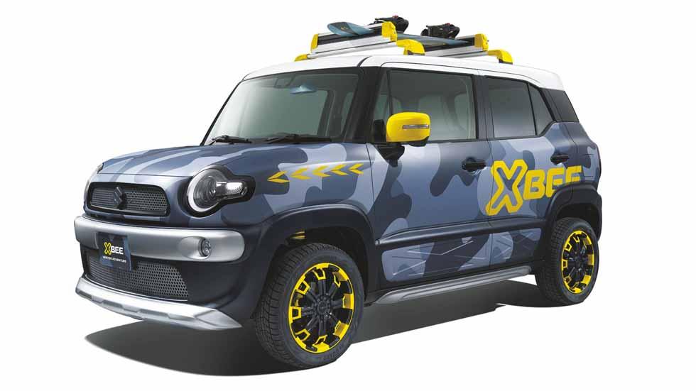 Suzuki Xbee: un coche urbano para la aventura más atrevida
