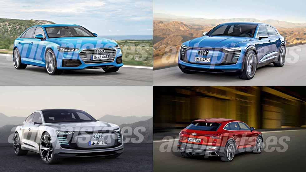 Revista Autopista 3036: todos los coches nuevos y SUV de Audi hasta 2024