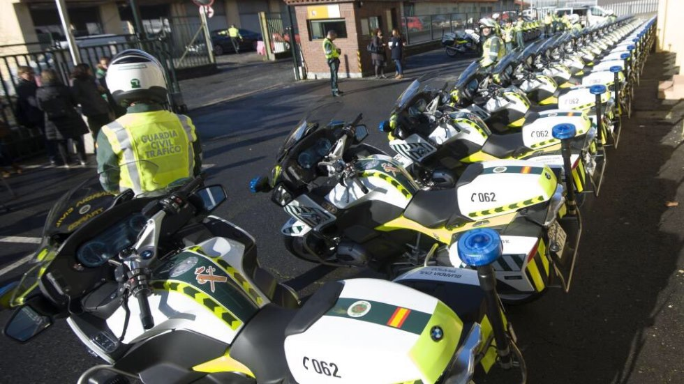 Así son las motos de la Guardia Civil que multarán con radares portátiles