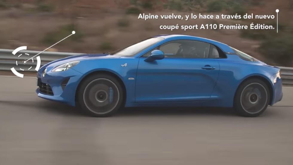 Alpine A110: todas las claves del deportivo más esperado, en vídeo