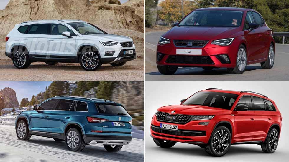 Todo lo nuevo de Seat y Skoda en 2018: SUV grande de 7 plazas, Kodiaq RS, Fabia…