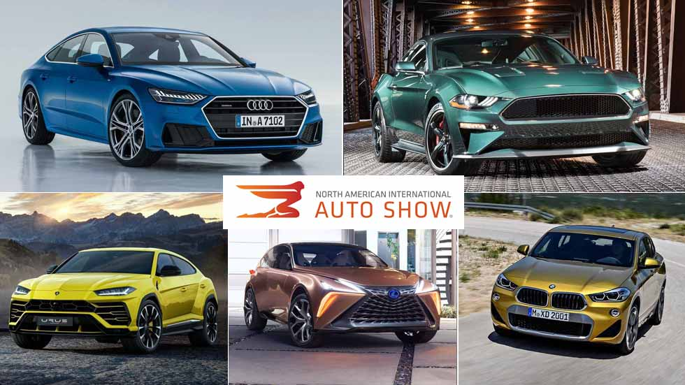 Salón de Detroit 2018: los mejores coches y SUV del momento