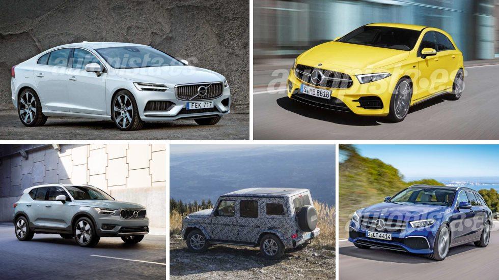 Todo lo nuevo de Mercedes y Volvo en 2018: Clase A, C, CLS, G, XC40, S60…