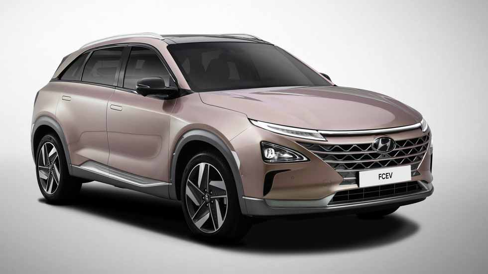 """Hyundai FCEV: el """"Tucson de hidrógeno"""" se presenta en el CES 2018"""