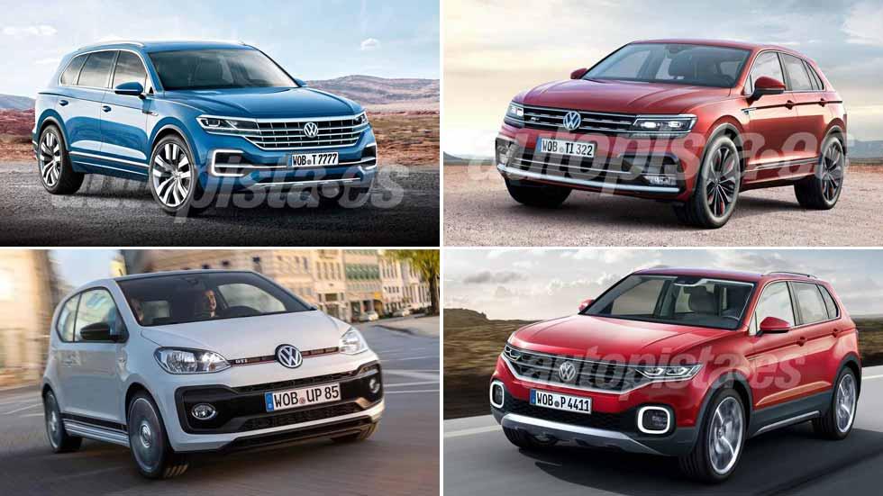 Todos los coches y SUV nuevos de Volkswagen en 2018, desvelados en VÍDEO