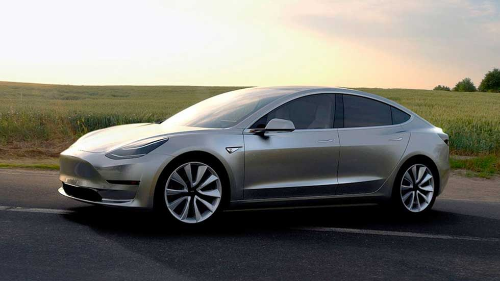 primera prueba a un tesla model 3 m s cerca de un m3 que un serie 3. Black Bedroom Furniture Sets. Home Design Ideas