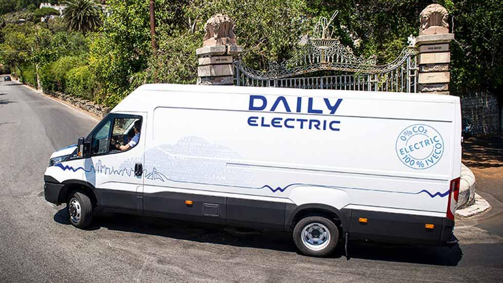 Las furgonetas eléctricas de hasta 4,5 toneladas se podrán conducir con el carné B